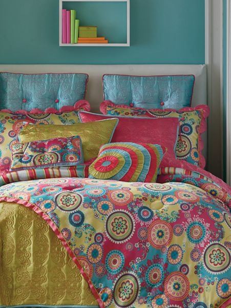 Carnaby Street Quilt or Comforter Set  Accessories