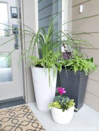 17 Best ideas about Front Door Planters on Pinterest ...