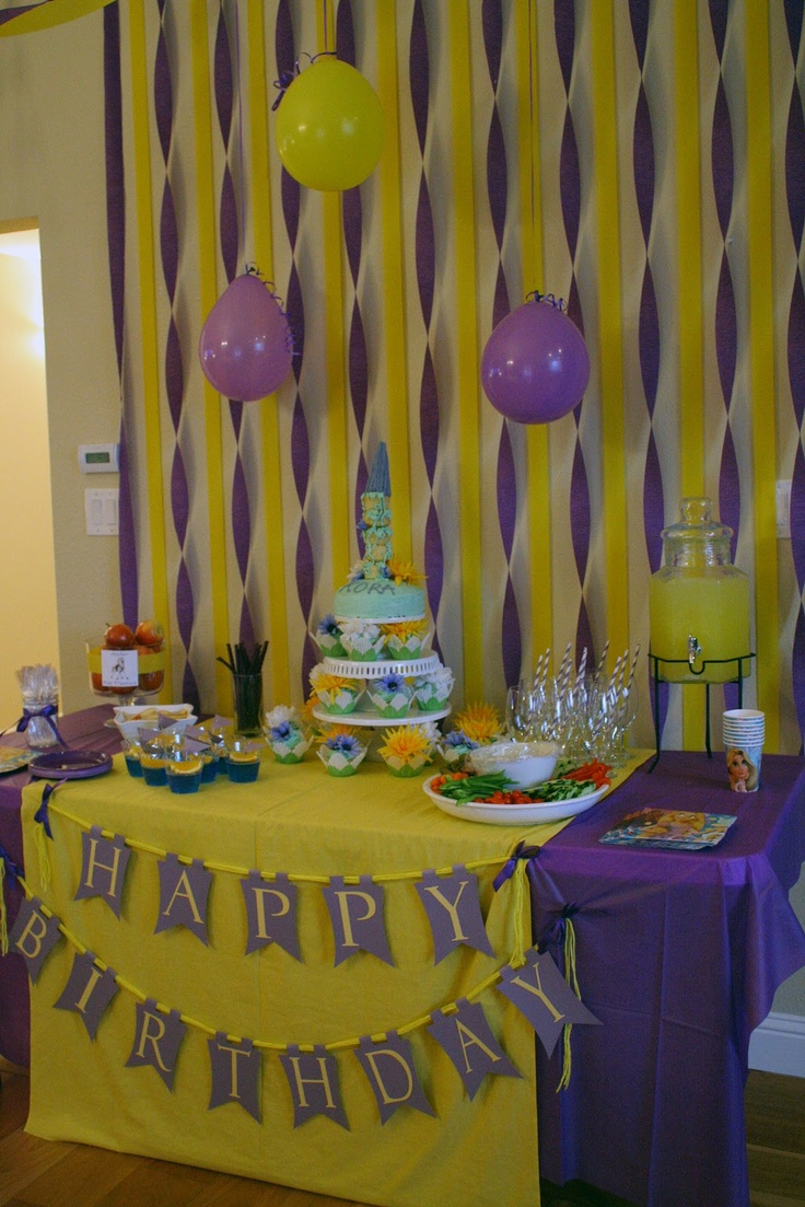 10+ ideas about Tangled Party Decorations on Pinterest