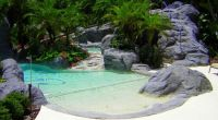 Natural Backyard Swimming Pools Rock Pool Design Ideas ...