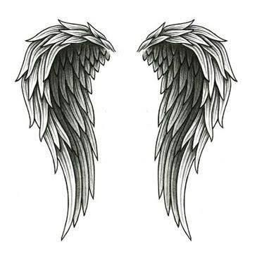 best 25 angel wing tattoos ideas on pinterest
