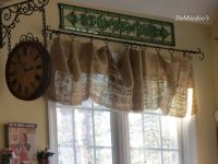 17 Best ideas about Burlap Valance on Pinterest | Country ...