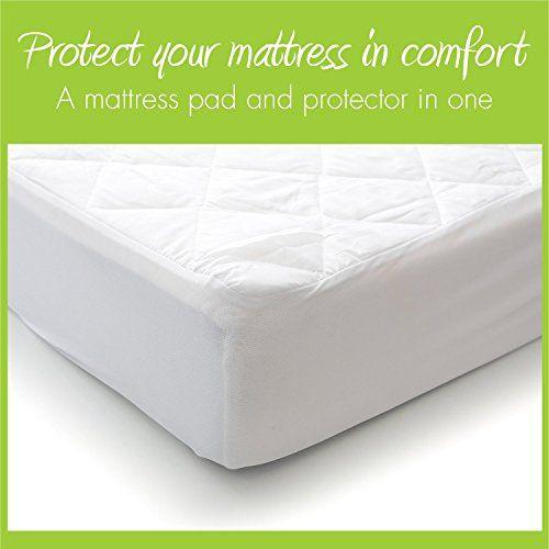 Baby Crib Mattress Topper Toddler Bed Memory Foam 2 Waterproof