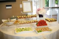 Tablescape. Yummy finger food ideas. Hostess with the ...