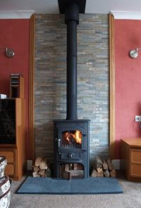 #Clearviewstoves solution 400 #woodstove with slate hearth ...