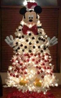 17 Best ideas about Mickey Mouse Christmas Tree on