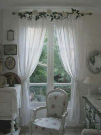 25+ best ideas about Shabby chic curtains on Pinterest ...
