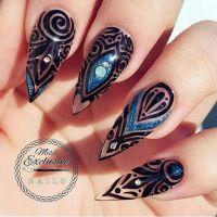 Best 25+ Stiletto nail designs ideas on Pinterest