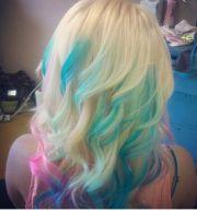 cotton candy hair platinum blonde