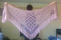 Crochet skull shawl - CROCHET | diy | Pinterest | Skulls ...