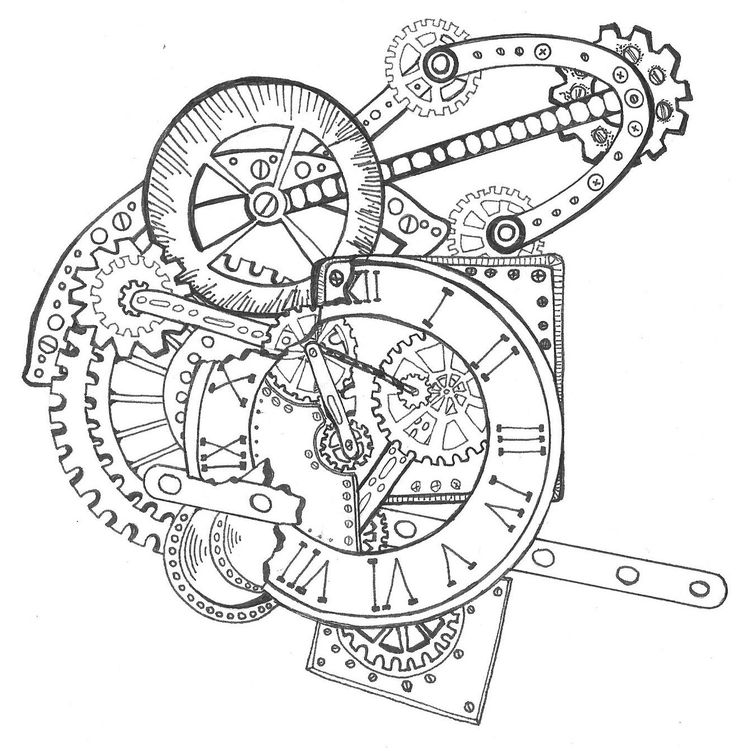 25+ best ideas about Steampunk clock on Pinterest