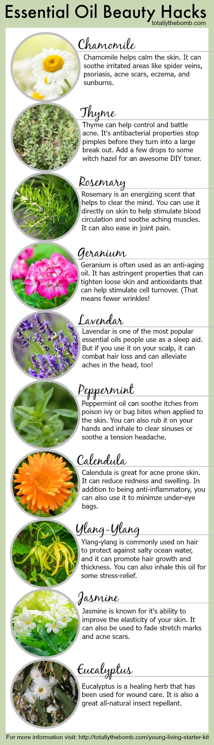 Young Living Essential Oils: Beauty Body