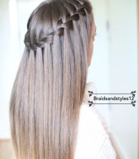 25+ Best Ideas about Waterfall Braids on Pinterest