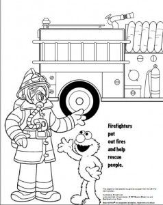 Coloring, Coloring books and Fire safety on Pinterest