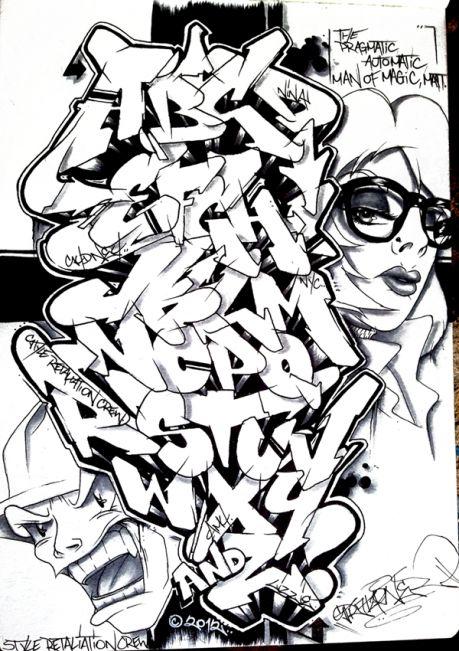 Alphabet Graffiti Letter Kader Graffiti Alphabet Alphabet
