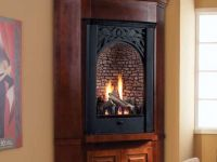 Ventless Corner Gas Fireplace