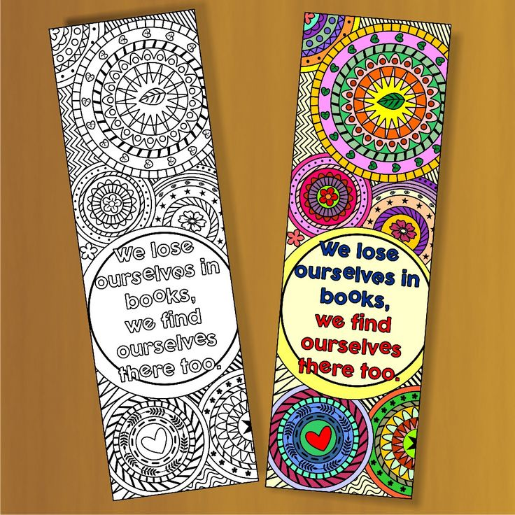 17 Best ideas about Bookmark Template on Pinterest