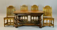 Antique German Crafted Jacobean Dining Table in Excellent ...