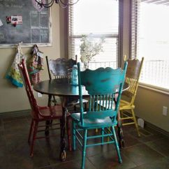 White Distressed Dining Chairs Office Cheap Best 25+ Tables Ideas On Pinterest | Refurbished Tables, Paint Wood ...