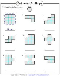 The 25+ best Area And Perimeter Worksheets ideas on ...