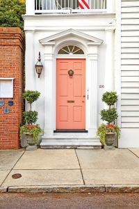 17 Best ideas about Coral Front Doors on Pinterest | Coral ...