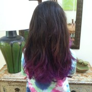 purple dip dye good