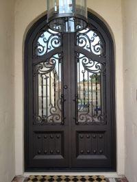 25+ best ideas about Iron front door on Pinterest   Iron ...