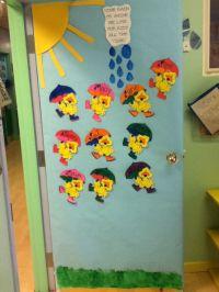 My spring classroom door | Classroom door ideas ...