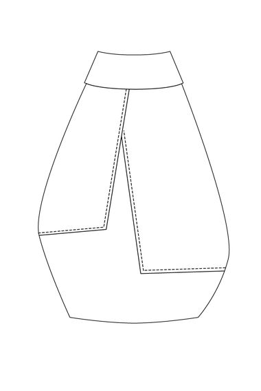 117 best Technical fashion drawings skirts images on Pinterest
