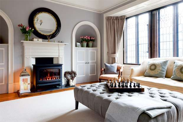 Victorian House Contemporary Style Home Decorating 13 Home