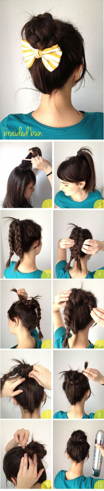 18 Cute Hairstyles that Can Be Done in a Few Minutes – Pretty Designs