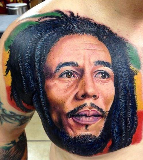 tattoos bob marley