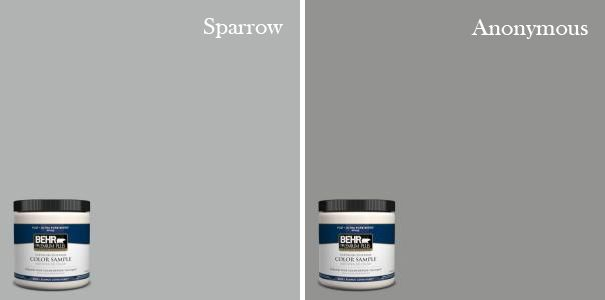Behr Sparrow Behr Anonymous  Paint It  gray  Pinterest