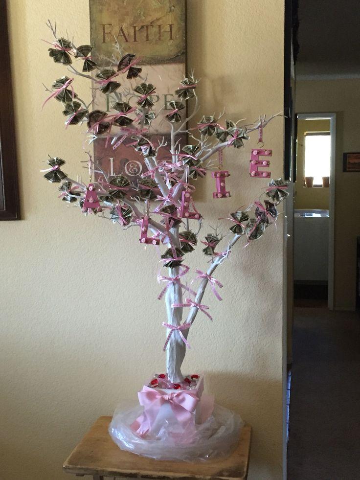 Baby Shower Money Tree Gayle S Land Of Adventure