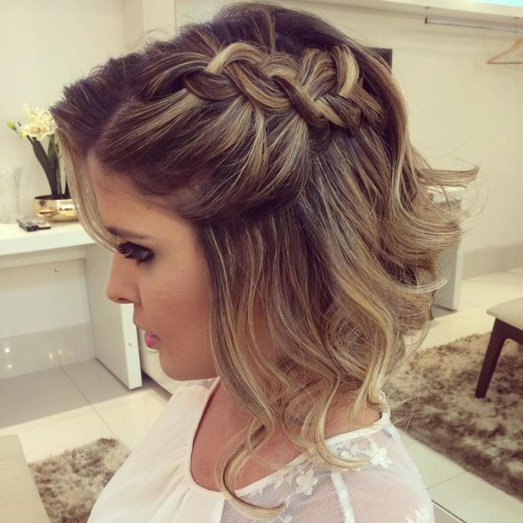 25 Best Ideas About Short Hairstyles For Prom On Pinterest
