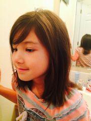 medium length little girl hair