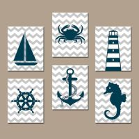 17 Best ideas about Nautical Wall Art on Pinterest