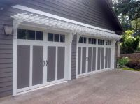 25+ best ideas about Garage pergola on Pinterest