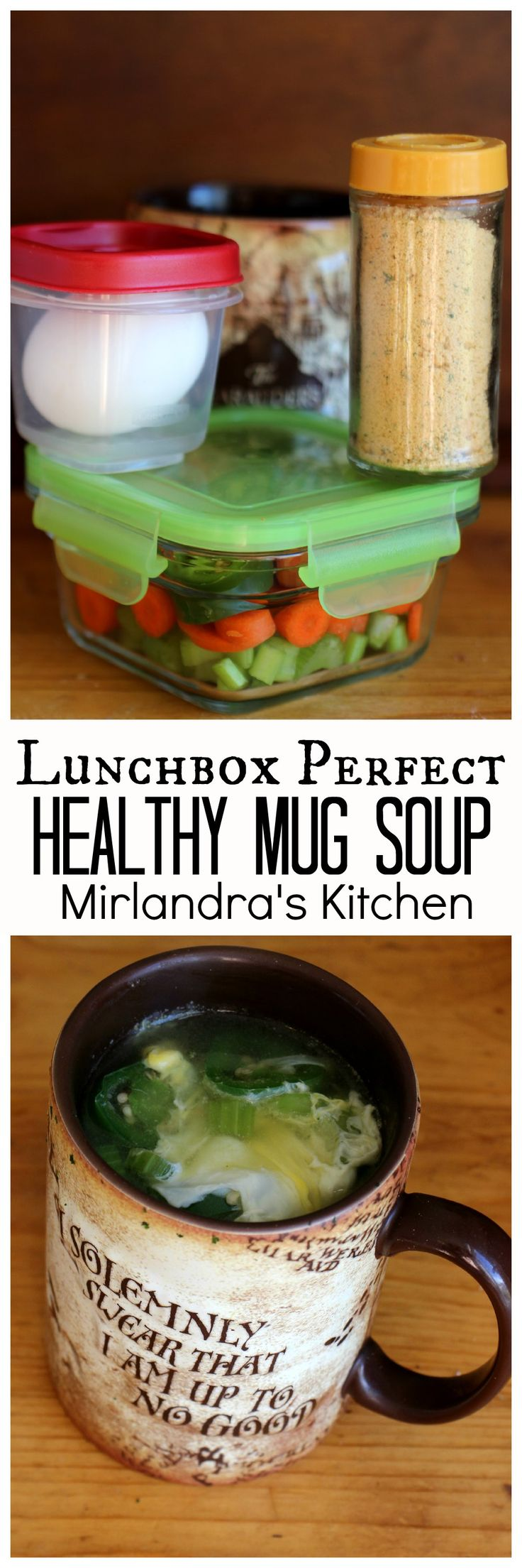Healthy Mug Soup is a simple and delicious vegetable egg soup. Add this to your lunchbox routine – It is a