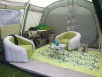 inflatable furniture for inside a tent... classy   Camping ...