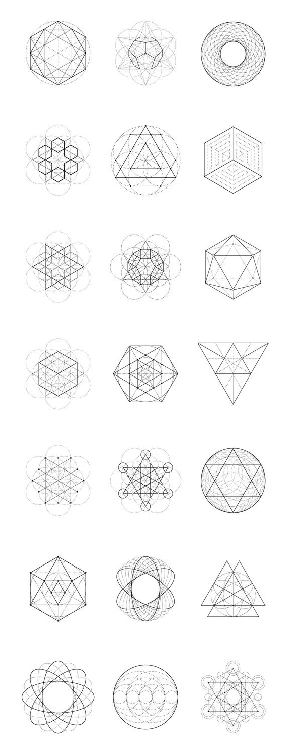 25+ best ideas about Sacred geometry art on Pinterest