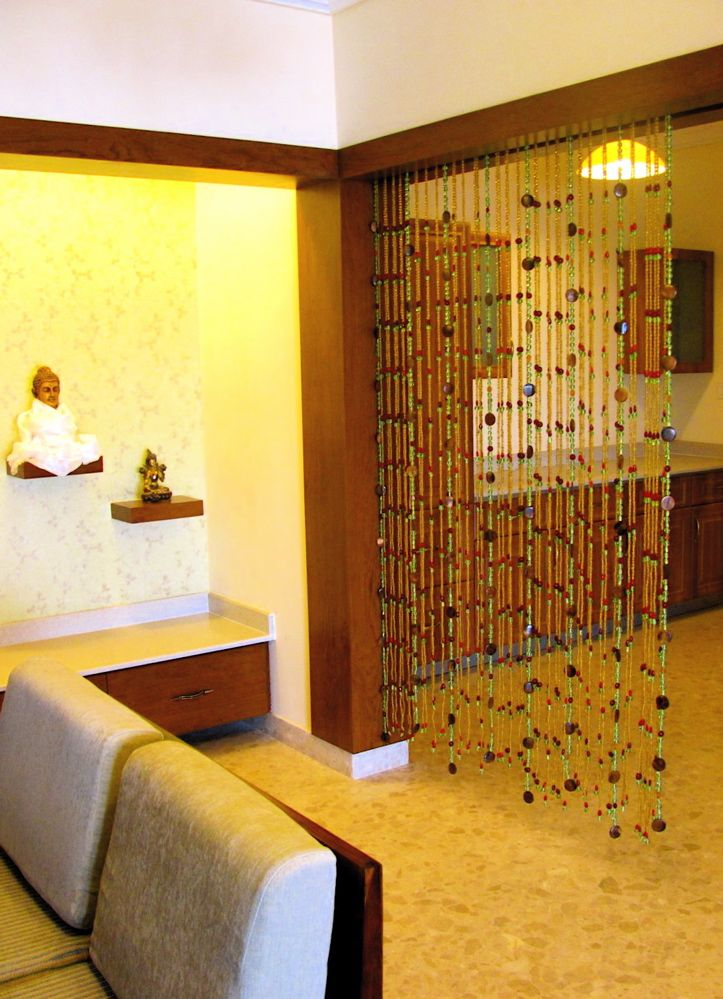 Bead curtain as room divider  Living Room  Pinterest  Beaded curtains and Dream apartment