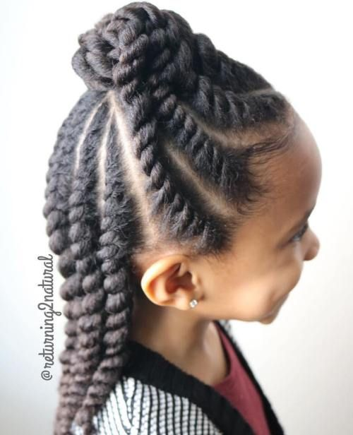 25 Best Ideas About Natural Hairstyles For Kids On Pinterest