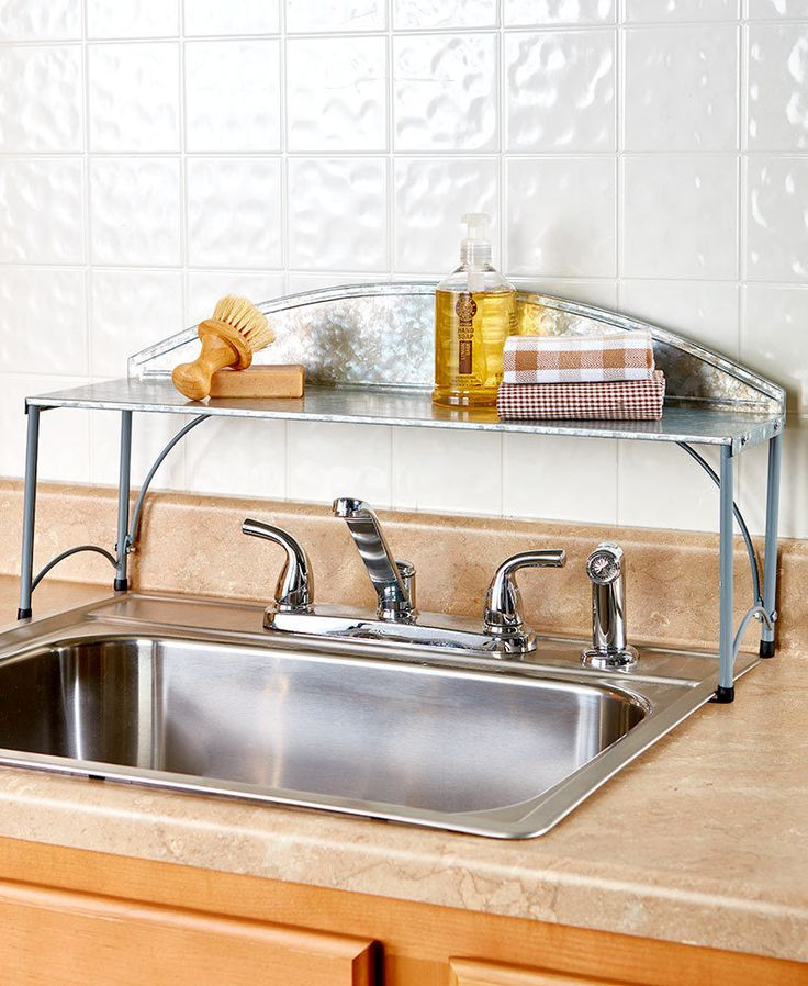 25 Best Ideas about Sink Shelf on Pinterest  Shelves
