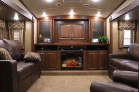 Front living room fifth wheel toy hauler - oh my husband ...