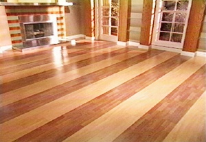 Love this two tone wood flooring  Flooring  Pinterest
