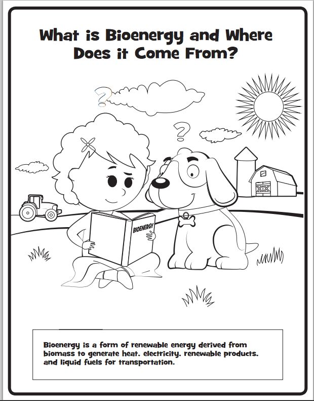 Check out our new Bioenergy coloring book! #education #
