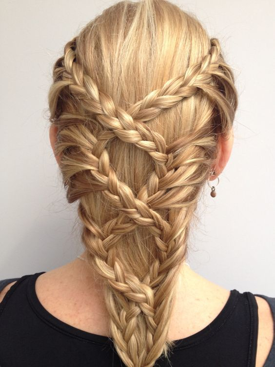 25 Best Ideas About Medieval Hairstyles On Pinterest