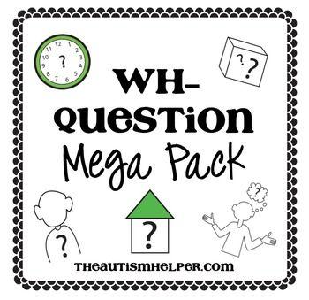 383 best SLP WH Questions images on Pinterest