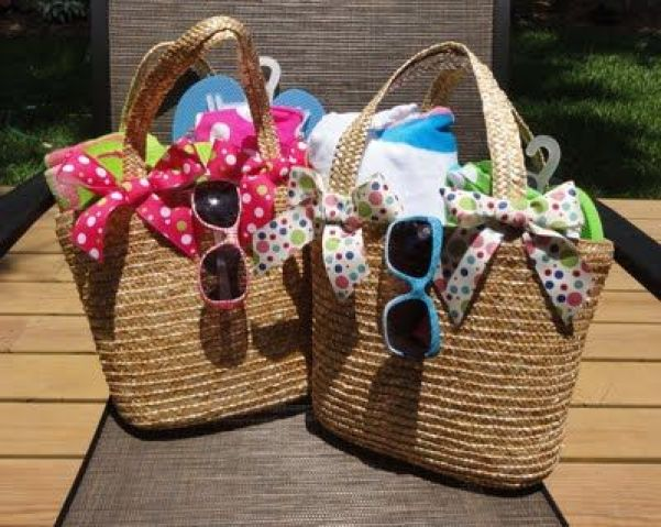 Image result for beach bag easter basket